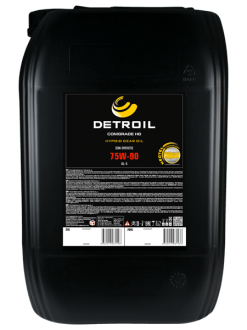 Масло DETROIL Comgrade HG 75W-90 GL-5 Semi-Synthetic (20л)